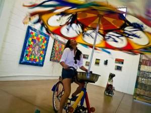 Bicilcleta Voadora - Expo Minas Gerais.