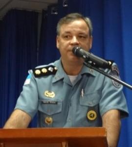 Comandante do 40oBPM, Cel Chagas