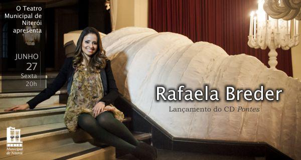 Rafaela Breder lança o CD