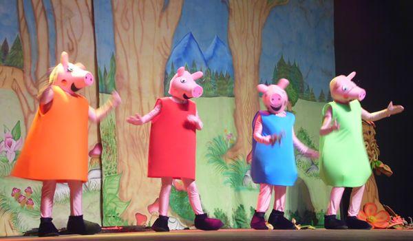 Os Três Porquinhos e Peppa Pig