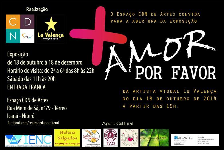 Espaço CDN de Artes traz exposição sobre Amor