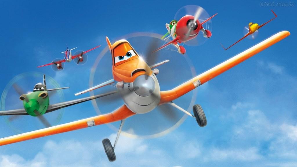 aviões disney