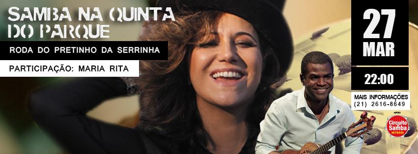 Capa Maria Rita Niterói