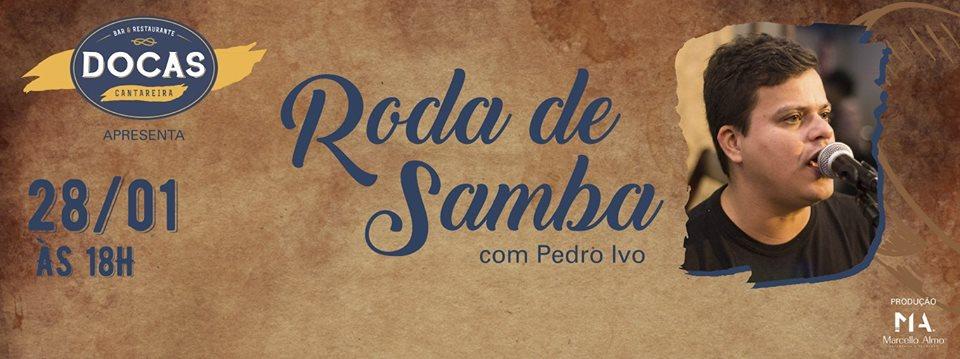 Roda de Samba com Pedro Ivo