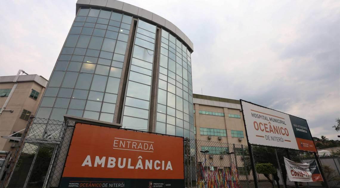 Hospital Oceânico - foto Jornal O Dia